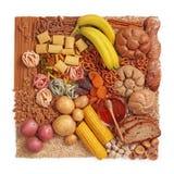 Carbohidrato fotografía de archivo libre de regalías
