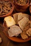 Carbohidratos enteros del grano imagen de archivo libre de regalías