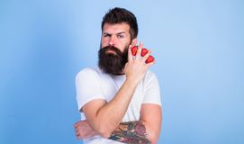 Carbohydrate content strawberry. Metabolic disease. Strawberries safest fruit for sugar levels. Mostly carbohydrates. Sucrose fructose glucose. Man beard stock photos
