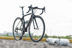Carbon bicycle Stock Photography