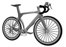 Carbon bike Stock Images