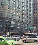 Carbon and Carbide Building Royalty Free Stock Photography