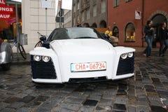 Carbon concept car Stock Photography