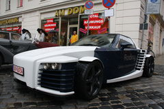 Carbon concept car Royalty Free Stock Photo