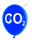 Carbon dioxide balloon Stock Photography