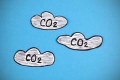 Carbon Dioxide Clouds Royalty Free Stock Images