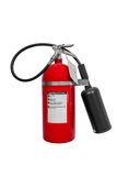 Carbon Dioxide CO2 Fire extinguisher isolated on white background. Carbon Dioxide CO2 Fire extinguisher for security isolated on white background Royalty Free Stock Photos