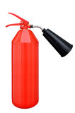 Carbon dioxide fire extinguisher Stock Photo