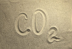 Carbon dioxide Royalty Free Stock Images