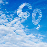 Carbon dioxide. Stock Photos