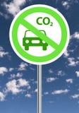Carbon emissions Stock Image
