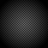 Carbon fiber. Vector illustration of a carbon fiber texture Stock Photos