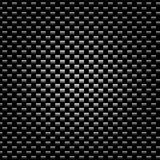 Carbon fiber. Detailed tightly woven carbon fiber background texture Stock Image