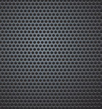 Carbon fiber background. Black carbon fiber background illustration Stock Photography