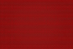 Carbon fiber background. Red texture Stock Image