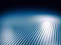 Carbon fiber background. Fine image of classic carbon fiber blue tone Stock Photography