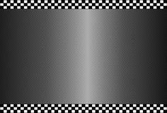 Carbon Fiber Black Background Stock Photography