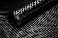 Carbon Fiber Cloth Fabric. Macro Royalty Free Stock Images