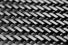Carbon Fiber Cloth Fabric. Royalty Free Stock Images