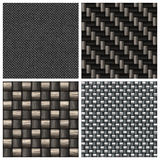 Carbon Fiber Collection royalty free stock images