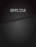 Carbon Fiber Cover. Cover design for a book, brochure, etc Stock Photography
