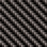 Carbon fiber cross weave. Seamless illustrated  carbon fiber background pattern that will repeat Royalty Free Stock Photos