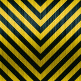 Carbon Fiber Hazard Stripes Royalty Free Stock Photos