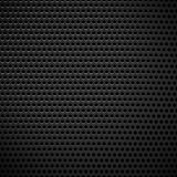 Carbon fiber industrial background with repeatable geometry. Dar. K, black dotted pattern. Punched, perforated surface. Abstract texture. - Royalty free vector Royalty Free Stock Image