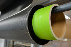 Carbon fiber kevlar background Royalty Free Stock Image
