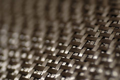 Carbon fiber pattern. Detail of carbon fiber weave Royalty Free Stock Photos