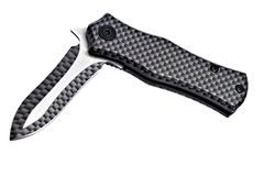 Carbon Fiber Pocketknife Royalty Free Stock Photo