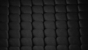 Carbon fiber, seamless pattern background. 3d render illustration Royalty Free Stock Photo