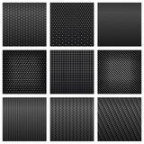 Carbon fiber seamless pattern backgrounds Stock Image