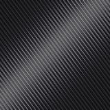 Carbon Fiber Seamless Vector Texture. Black Background stock illustration