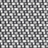 Carbon Fiber Seamless Vector Texture. Gray Background Royalty Free Stock Images