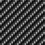 Carbon Fiber. Section of carbon fiber weave Stock Photos