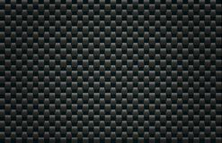 Carbon Fiber Texture. Square pattern illustration simulating carbon fiber texture Royalty Free Stock Image