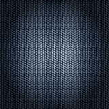 Carbon fiber texture. With radial lighting Stock Photography