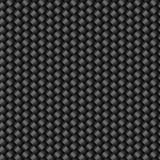 Carbon fiber texture seamless pattern. Vector background Stock Images
