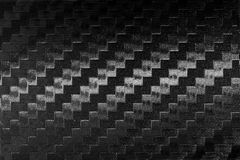 Carbon fiber textured Royalty Free Stock Images