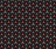 Carbon fiber triangle shape seamless background pattern. 3d rend stock illustration