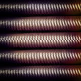 Carbon fiber tube Royalty Free Stock Photography