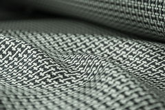 Carbon fiber twill background Royalty Free Stock Photography