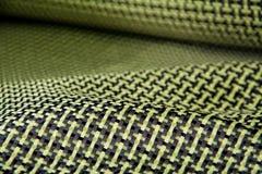 Carbon fiber twill background Stock Photos