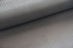Carbon fiber twill background Stock Photo