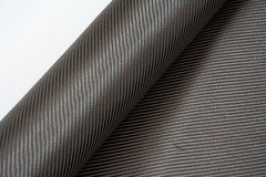 Carbon fiber twill background Stock Image