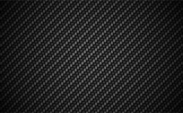 Carbon fiber twill 2 X 2 background. EPS 10 vector. Dark wallpaper Royalty Free Stock Images