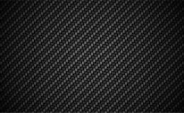 Carbon fiber twill 2 X 2 background. EPS 10 vector. Dark wallpaper royalty free illustration