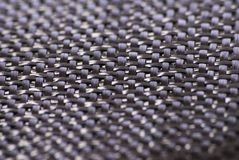 Carbon fiber weave textile Stock Photo