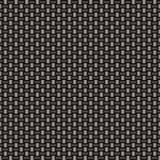 Carbon fiber woven link Stock Image